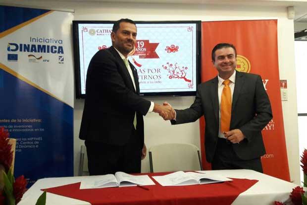 Banco Cathay impulsará mipymes de Costa Rica