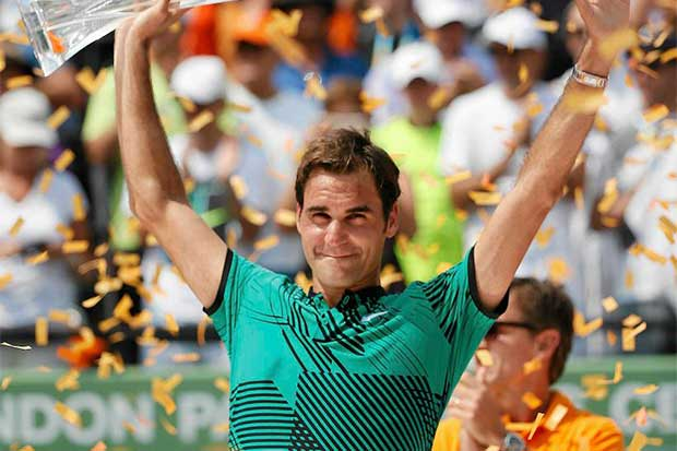 Federer y Nadal como la espuma