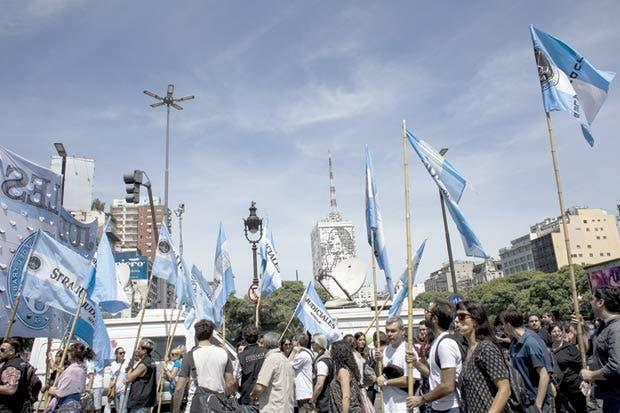 Huelga empaña a Argentina durante el Foro Económico Mundial