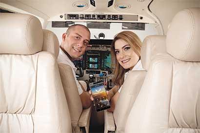 App permitirá rentar vuelos chárter desde el celular