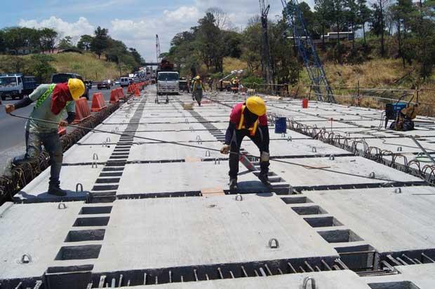 Trabajos en puente Alfredo González alcanzaron un 60% de avance