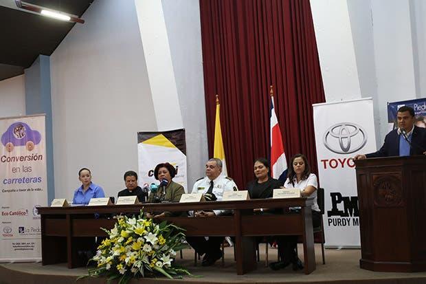 Campaña buscará reducir accidentes en carreteras
