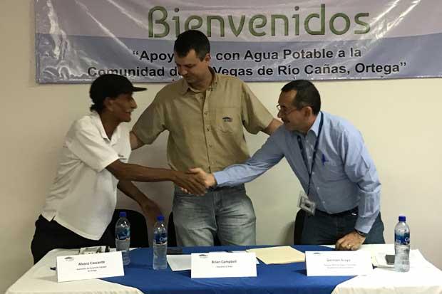 Comunidad guanacasteca tendrá agua potable gracias a convenio