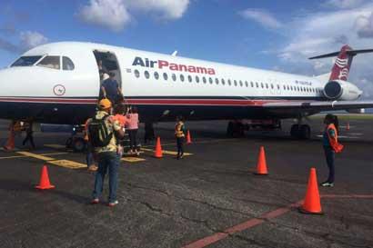 Air Panama inició vuelos chárteres a Roatán