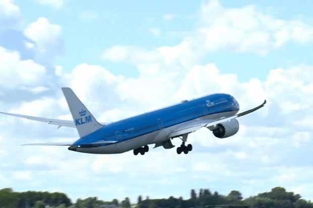 KLM volverá a operar en el país con dos vuelos semanales