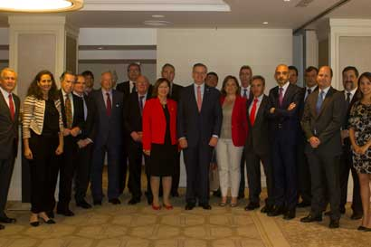 Canciller visitó España para discutir sobre oportunidades empresariales entre países