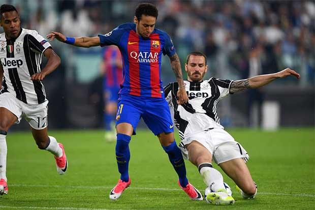 Así lloró por eliminación de Barcelona en Champions League — Neymar