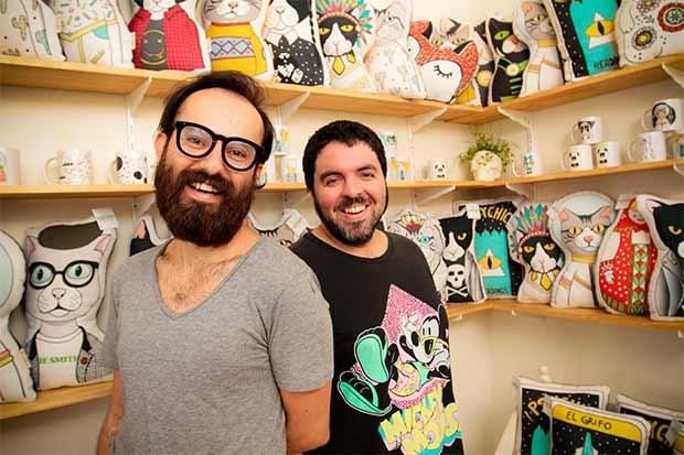 Puercospin lleva el diseño nacional a accesorios y decoraciones