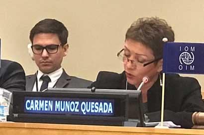 País resalta acciones para protección de derechos humanos