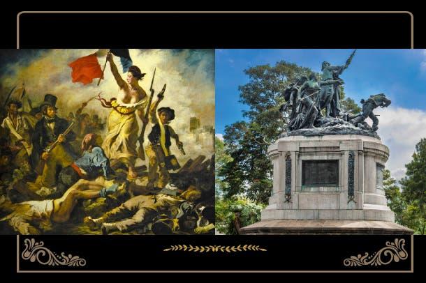 Simbología oculta ¿Inspiración francesa?