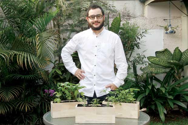 Huerto Orgánico busca que hogares produzcan sus propios alimentos