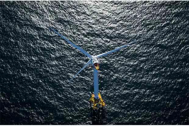 Turbinas eólicas gigantes anuncian energía verde no subsidiada