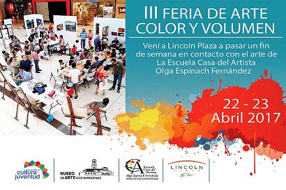 Feria Color y Volumen ofrece exposiciones y talleres de arte