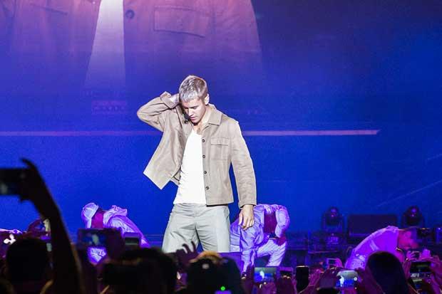 24 mil personas asistieron al concierto de Justin Bieber