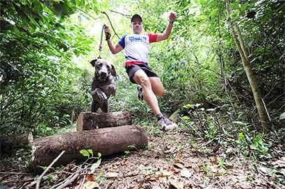 Corra con su mascota en final del PerroCross