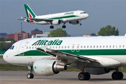 Alitalia iniciará proceso de quiebra