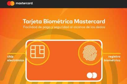 Mastercard presentó nueva tarjeta biométrica
