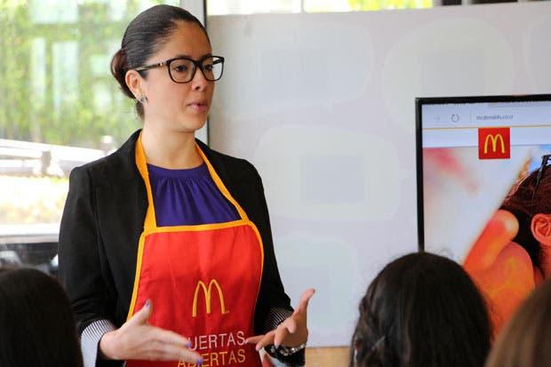 McDonald's celebró el millón de visitas en su cocina