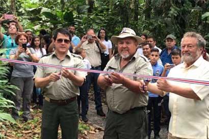 Monumento Guayabo inauguró nuevo sendero