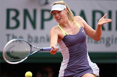 Sharapova podría jugar Roland Garros