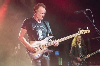 Sting da detalles de su concierto