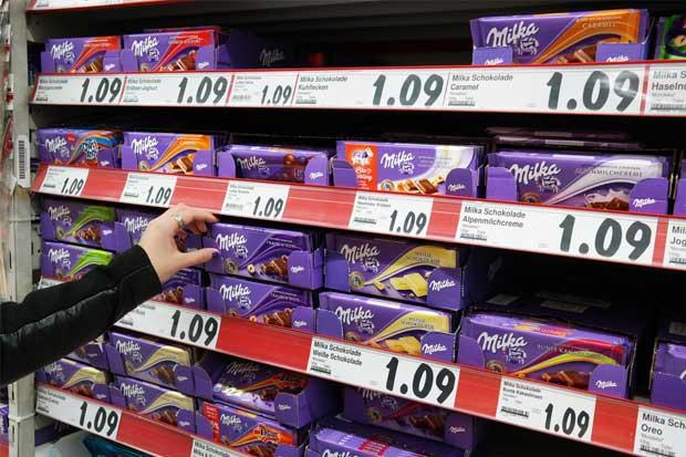 Mondelez progresa con chocolate tras compra fallida de Hershey
