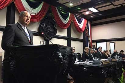 Solís enfatizó avances en economía, turismo, empleo e infraestructura vial