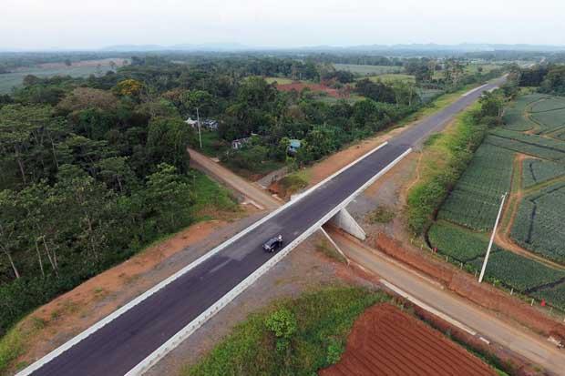 Nueva carretera entre Zona Norte y el Caribe ya está asfaltada