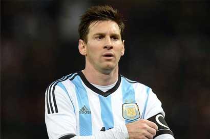 FIFA retira sanción de cuatro partidos a Messi