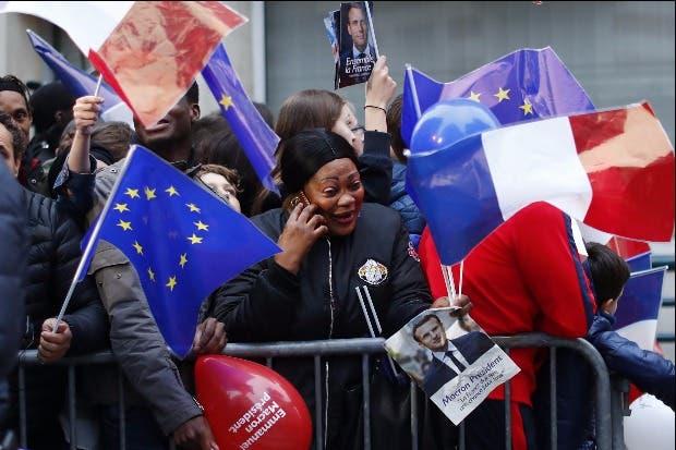 Macron vence en las elecciones de Francia