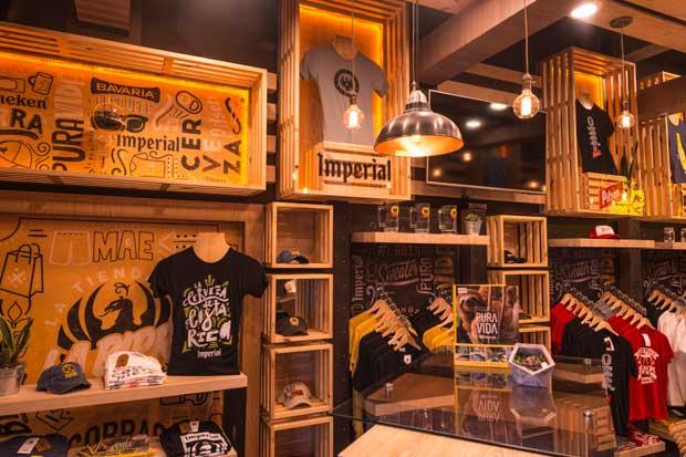 Cervecería Costa Rica abrió su primera tienda de souvenirs