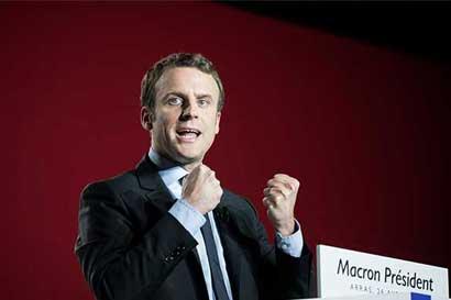 Macron asumirá el domingo como presidente de Francia
