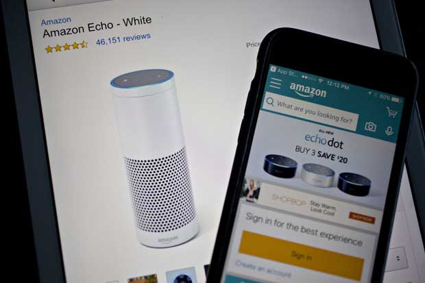 Amazon domina a Google en carrera por parlante activados por voz