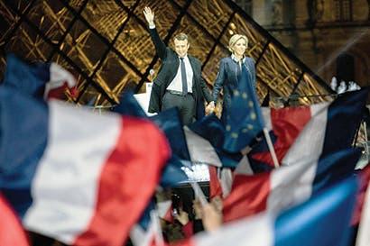Francia y Europa juegan últimas fichas tras triunfo de Macron