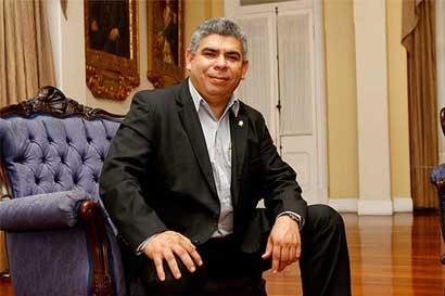 Frank Camacho es nuevo jefe de fracción del Frente Amplio