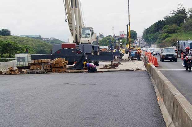 Relleno de aproximación de puente Alfredo González estará listo hoy