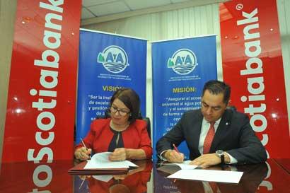 Scotiabank dona terreno al AyA en Guanacaste