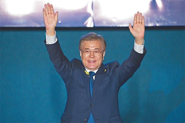 Nuevo Presidente surcoreano buscará la paz con Corea del Norte