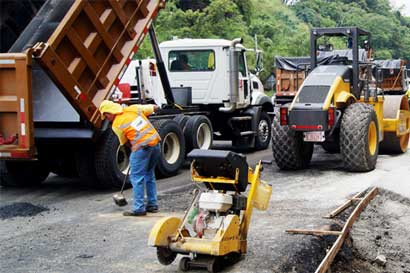 Tramo de carretera General Cañas tendrá cierre total el fin de semana