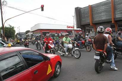 Accidentes en motocicletas aumentaron un 37%