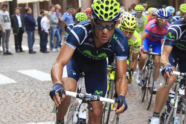 Andrey Amador es noveno en el Giro de Italia