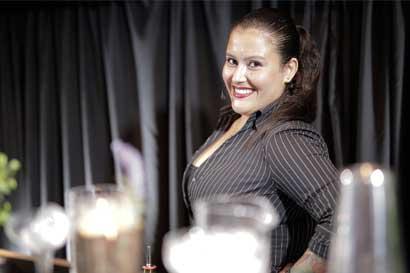 Bartender del Hilton Double Tree, elegida como la mejor del país