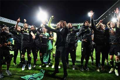 Chelsea conquista su quinto título de Premier League