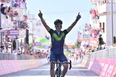 Equipo de Andrey Amador gana octava etapa del Giro de Italia