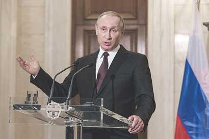 Putin propone a EEUU acuerdo sobre ciberseguridad