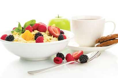 El desayuno representa hasta el 25% de aporte de energía del día