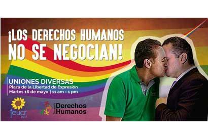 Defensores LGTBI acudirán a organizaciones de derechos humanos tras retiro de pancarta
