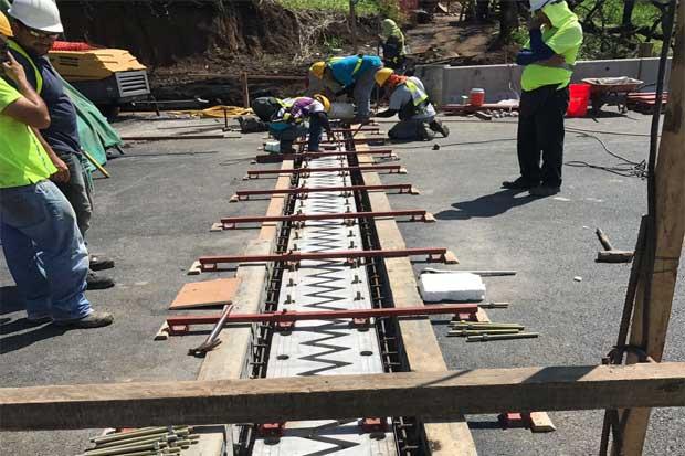 Trabajos en puente Alfredo González se encuentran en fase final