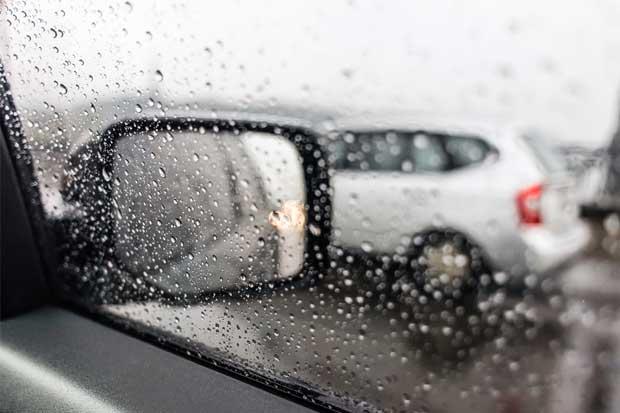 Tránsito llama a conciliar ante aumento de choques leves por lluvias