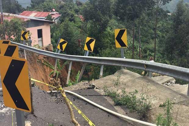 Conavi invertirá ¢180 millones en solucionar de deslizamiento en León Cortés